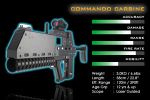 laser tag games weapons