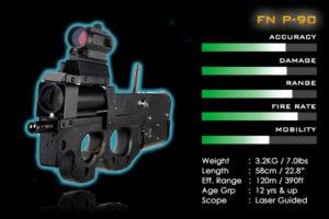 mobile laser tag gun