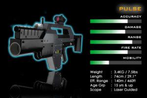 big laser gun