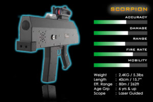 laser tag weapons
