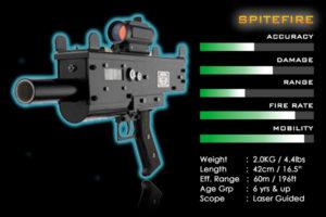 laser tag guns short range