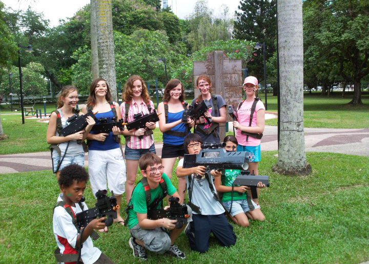 Laser Tag Birthday Parties in Singapore - Kids Farewell