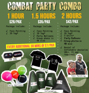 party prices for laser tag