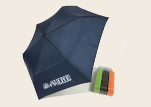 Colourful Bullet Shaped Umbrellas