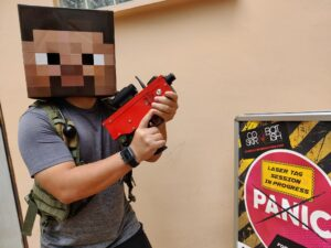 Minecraft Laser Tag Party Games